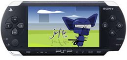 Sony PSP wallpaper featuring Ninja Yoshi of Jefte.net fame.